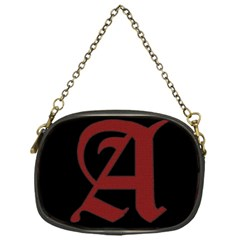 The Scarlet Letter Chain Purses (one Side)  by Valentinaart