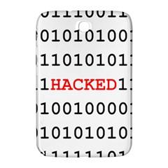 Binary Black Cyber Data Digits Samsung Galaxy Note 8 0 N5100 Hardshell Case  by Nexatart