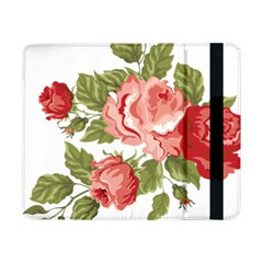 Flower Rose Pink Red Romantic Samsung Galaxy Tab Pro 8 4  Flip Case by Nexatart