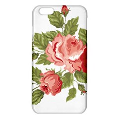 Flower Rose Pink Red Romantic Iphone 6 Plus/6s Plus Tpu Case by Nexatart
