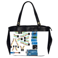 Arduino Arduino Uno Electronic Office Handbags (2 Sides)  by Nexatart