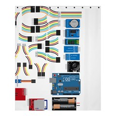 Arduino Arduino Uno Electronic Shower Curtain 60  X 72  (medium)  by Nexatart