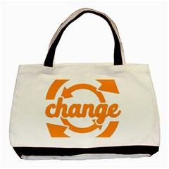 Think Switch Arrows Rethinking Basic Tote Bag by Nexatart