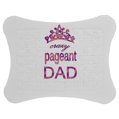 Crazy Pageant Dad Jigsaw Puzzle Photo Stand (bow) by Valentinaart