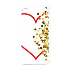 Heart Transparent Background Love Apple Iphone 4 Case (white) by Nexatart