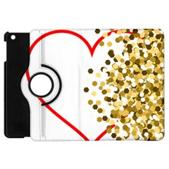 Heart Transparent Background Love Apple Ipad Mini Flip 360 Case by Nexatart