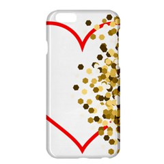 Heart Transparent Background Love Apple Iphone 6 Plus/6s Plus Hardshell Case by Nexatart