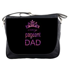 Crazy Pageant Dad Messenger Bags by Valentinaart