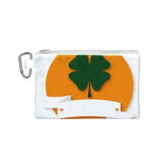St Patricks Day Ireland Clover Canvas Cosmetic Bag (s) by Nexatart