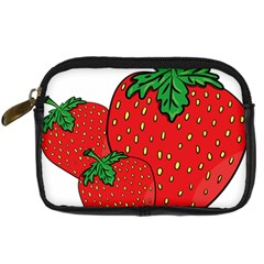 Strawberry Holidays Fragaria Vesca Digital Camera Cases by Nexatart