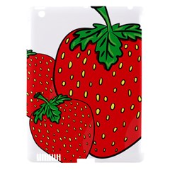 Strawberry Holidays Fragaria Vesca Apple iPad 3/4 Hardshell Case (Compatible with Smart Cover) by Nexatart