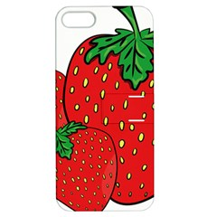 Strawberry Holidays Fragaria Vesca Apple Iphone 5 Hardshell Case With Stand by Nexatart