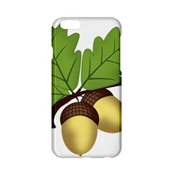 Acorn Hazelnuts Nature Forest Apple Iphone 6/6s Hardshell Case by Nexatart
