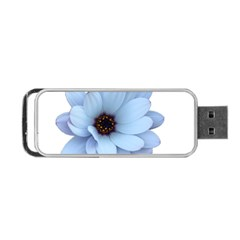 Daisy Flower Floral Plant Summer Portable Usb Flash (one Side) by Nexatart