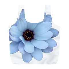 Daisy Flower Floral Plant Summer Full Print Recycle Bags (l)