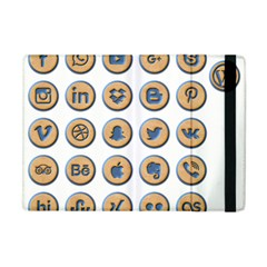 Social Media Icon Icons Social Apple Ipad Mini Flip Case by Nexatart