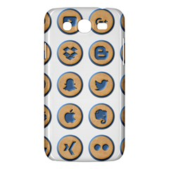 Social Media Icon Icons Social Samsung Galaxy Mega 5 8 I9152 Hardshell Case  by Nexatart