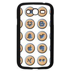 Social Media Icon Icons Social Samsung Galaxy Grand Duos I9082 Case (black) by Nexatart