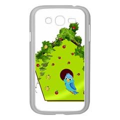 Bluebird Bird Birdhouse Avian Samsung Galaxy Grand Duos I9082 Case (white)