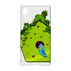 Bluebird Bird Birdhouse Avian Sony Xperia Z3+ by Nexatart