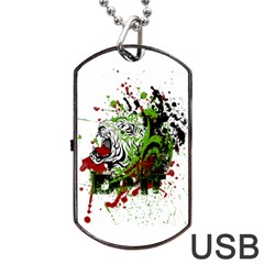 Do It Sport Crossfit Fitness Dog Tag Usb Flash (two Sides) by Nexatart