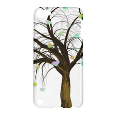 Tree Fantasy Magic Hearts Flowers Apple Ipod Touch 5 Hardshell Case
