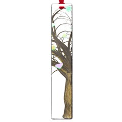 Tree Fantasy Magic Hearts Flowers Large Book Marks by Nexatart