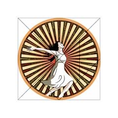 Woman Power Glory Affirmation Acrylic Tangram Puzzle (4  X 4 ) by Nexatart