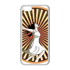 Woman Power Glory Affirmation Apple Iphone 5c Seamless Case (white) by Nexatart