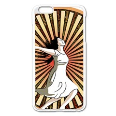 Woman Power Glory Affirmation Apple Iphone 6 Plus/6s Plus Enamel White Case by Nexatart