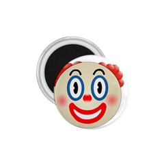 Clown Funny Make Up Whatsapp 1 75  Magnets by Nexatart