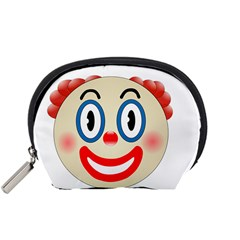 Clown Funny Make Up Whatsapp Accessory Pouches (small)  by Nexatart