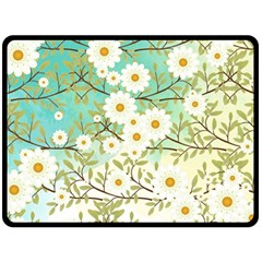 Springtime Scene Fleece Blanket (large)  by linceazul