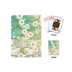 Springtime Scene Playing Cards (mini)  by linceazul