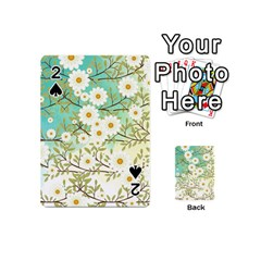 Springtime Scene Playing Cards 54 (mini)  by linceazul