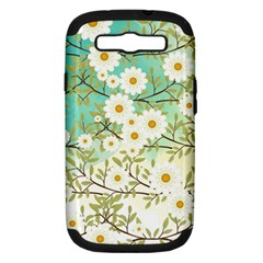 Springtime Scene Samsung Galaxy S Iii Hardshell Case (pc+silicone) by linceazul