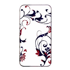 Scroll Border Swirls Abstract Apple Iphone 4/4s Seamless Case (black) by Nexatart
