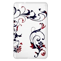 Scroll Border Swirls Abstract Samsung Galaxy Tab Pro 8 4 Hardshell Case by Nexatart