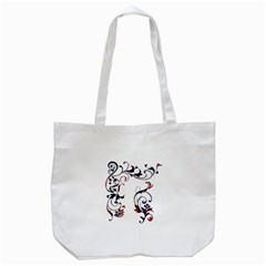 Scroll Border Swirls Abstract Tote Bag (white) by Nexatart