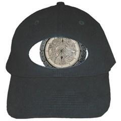 Clock Celtic Knot Time Celtic Knot Black Cap