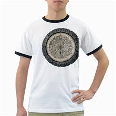 Clock Celtic Knot Time Celtic Knot Ringer T Shirts