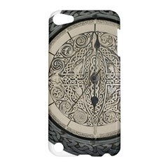 Clock Celtic Knot Time Celtic Knot Apple Ipod Touch 5 Hardshell Case by Nexatart
