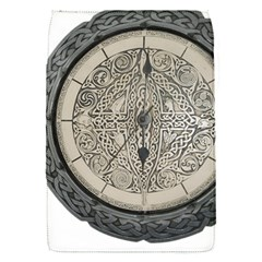 Clock Celtic Knot Time Celtic Knot Flap Covers (s)  by Nexatart