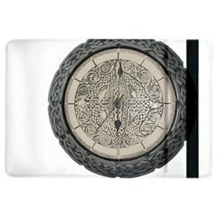 Clock Celtic Knot Time Celtic Knot Ipad Air 2 Flip by Nexatart