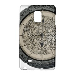 Clock Celtic Knot Time Celtic Knot Galaxy Note Edge by Nexatart