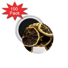 Lemon Dried Fruit Orange Isolated 1 75  Magnets (100 Pack)  by Nexatart