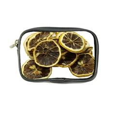 Lemon Dried Fruit Orange Isolated Coin Purse by Nexatart