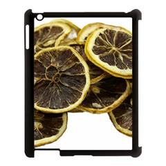 Lemon Dried Fruit Orange Isolated Apple Ipad 3/4 Case (black) by Nexatart