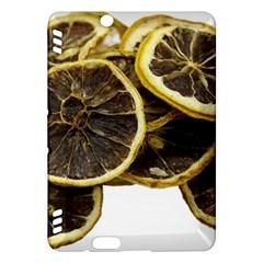 Lemon Dried Fruit Orange Isolated Kindle Fire Hdx Hardshell Case by Nexatart
