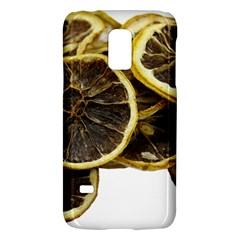 Lemon Dried Fruit Orange Isolated Galaxy S5 Mini by Nexatart